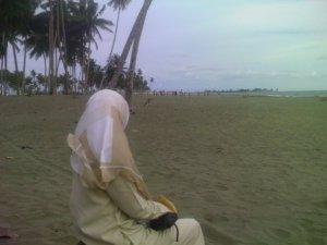 Pantai batu Putih Meulaboh